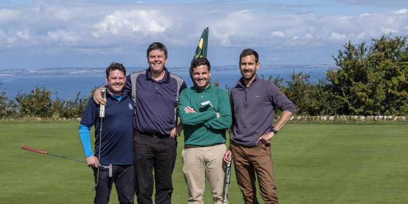 Competitors at Last Years Golf Day